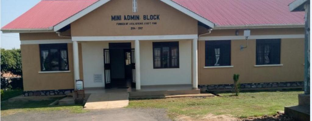 Mini-Administration block at the district headquarters